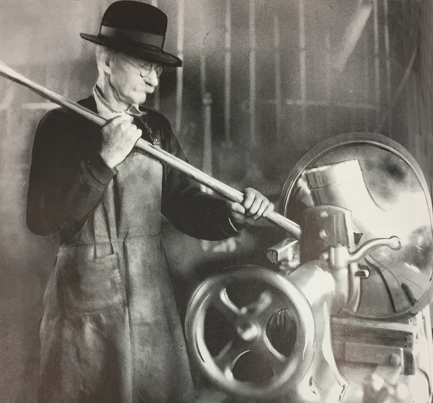 Keefer Band Instrument Factory Worker 1922