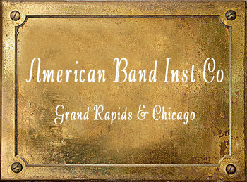 American Band Instrument Company Grand Rapids Chicago history