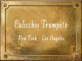 Domenick Calicchio Trumpet brass instrument history New York Los Angeles