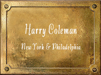 Harry Coleman Excelsior Brass Band Instruments New York Philadelphia