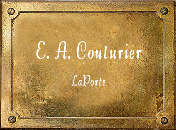 E A Couturier Band Instrument Company history LaPorte Indiana