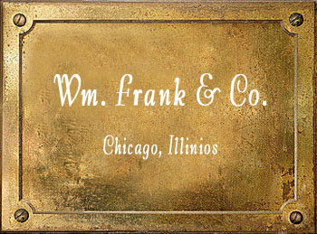 William Frank Company Chicago brass instrument history
