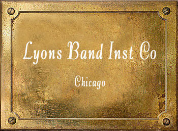 Lyons Band Instrument Company Chicago History