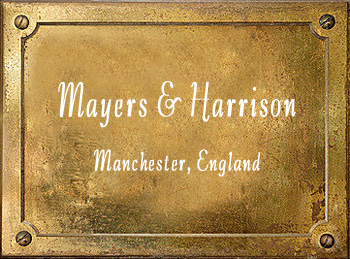 Mayers & Harrison band instruments history Manchester England