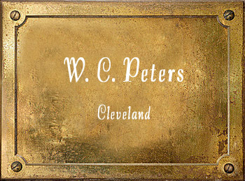 W C Peters Cleveland Ohio music store history
