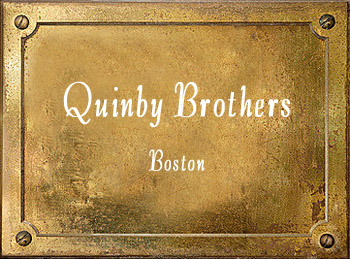 Quinby Brothers Boston brass History