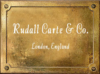 Rudall Rose Carte & Co London England brass instrument makers cornet trumpet history