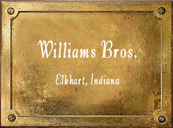 Williams Brothers Brass Instrument Makers Elkhart Indiana