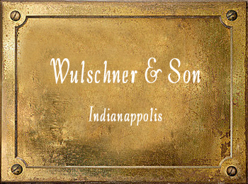 Wulschner & Son music brass history Indianappolis